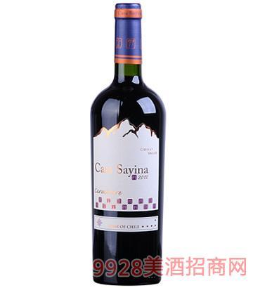 凯萨雅庄园佳美娜干红葡萄酒13度750ml