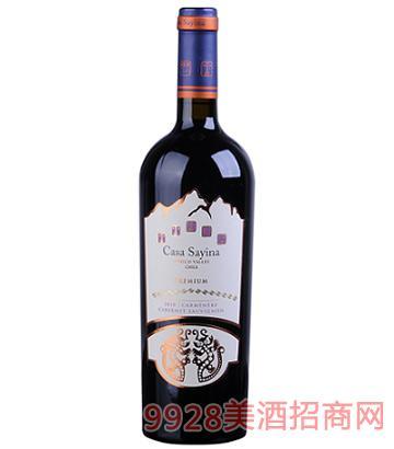 陈酿赤霞珠-佳美娜干红葡萄酒14度750ml