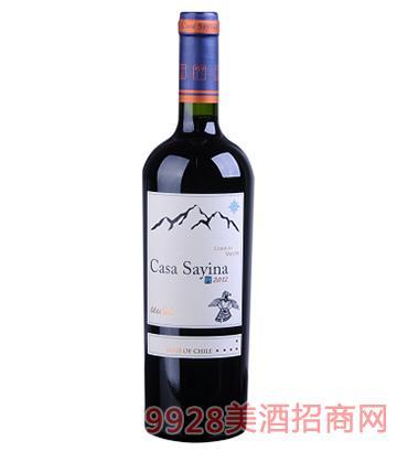 凯萨雅庄园美乐干红葡萄酒13度750ml