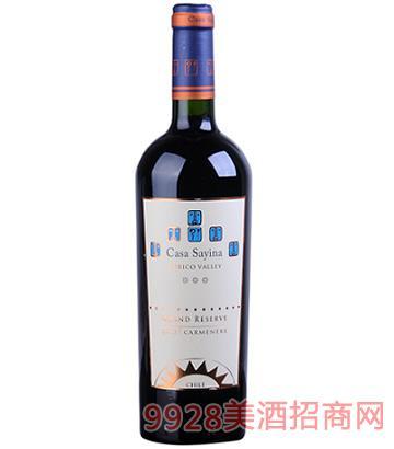 凯萨雅庄园特级陈酿佳美娜干红葡萄酒14度750ml
