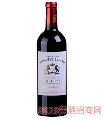 杜卡斯庄园干红葡萄酒
