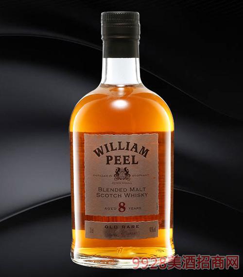 威廉姆8年威士忌40%700ml