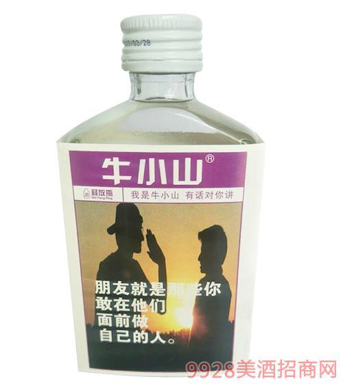 牛小山小酒100mlx6瓶x4组清香型40°
