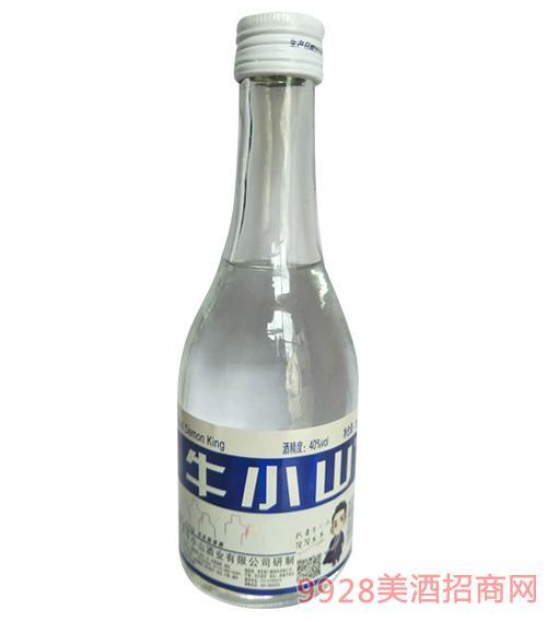 牛小山清香型白酒40度300mlx12