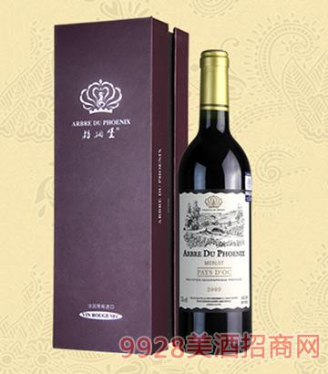 梧桐堡圣豪珂干红葡萄酒2009-13度750ml