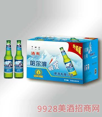 清爽啤酒箱装330mlx24瓶