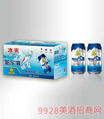 冰爽啤酒箱装330mlx24