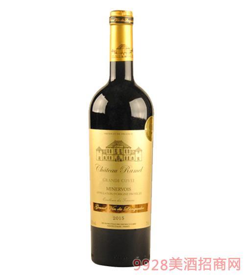 嘉文庄园米内瓦干红葡萄酒