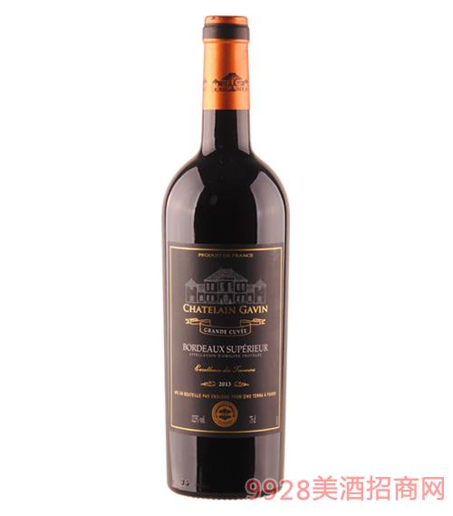 嘉文庄园超级波尔多干红葡萄酒