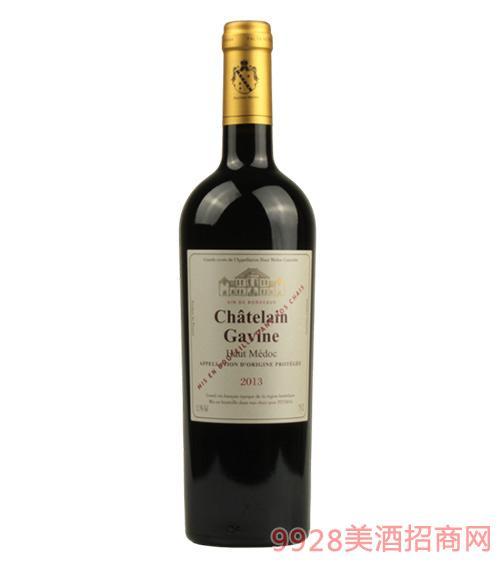 嘉文庄园上梅多克产区干红葡萄酒