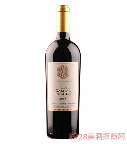 嘉米诺赤霞珠卡曼尼特级珍藏干红葡萄酒
