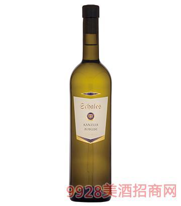 查理天使卡安莱贵腐甜白葡萄酒10度750ml