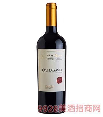 智利之花窖藏加文妮红葡萄酒750ml