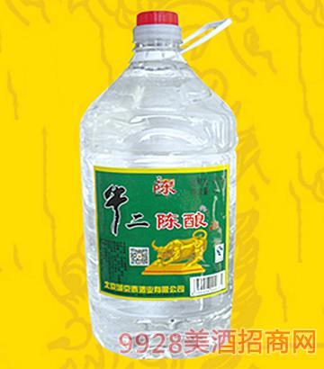 牛二陈酿酒桶装4L