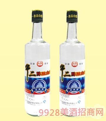 牛二陈酿精品500蓝标