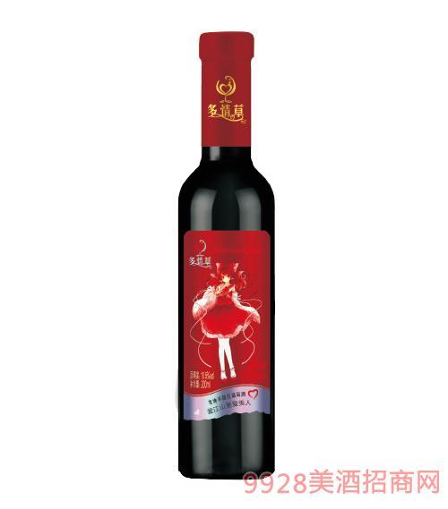 多情草女神半甜红葡萄酒