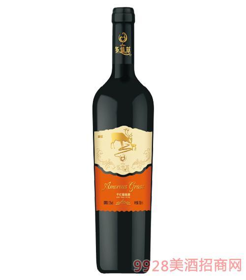 多情草亲情干红葡萄酒
