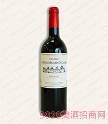 杜柯特堡波尔多干红葡萄酒12.5度750ml