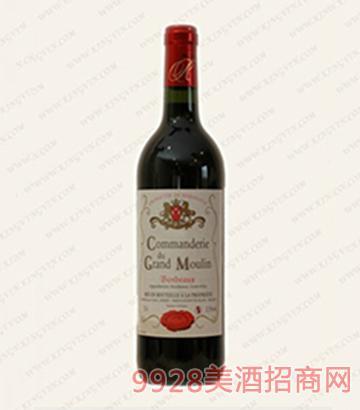 科莫林干红葡萄酒12.5度750ml