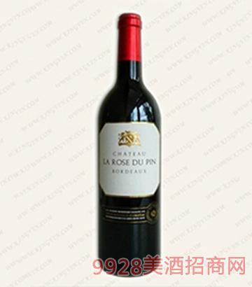 罗斯品波尔多干红葡萄酒13度750ml