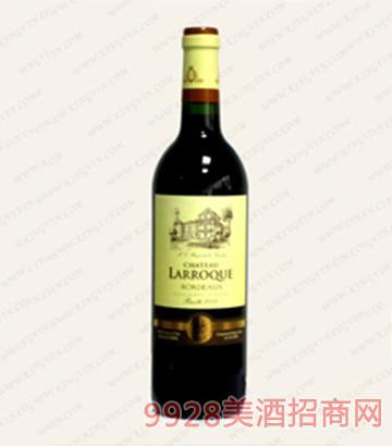 拉洛克堡干红葡萄酒13度750ml
