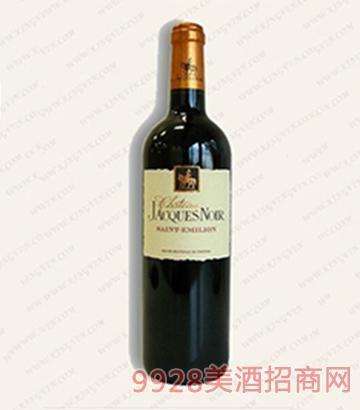 雅克城堡波尔多干红葡萄酒13度750ml