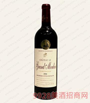 大莫林堡波尔多干红葡萄酒13度750ml