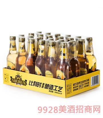 快乐跑男纯生啤酒24瓶装