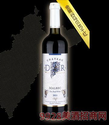 金獅谷馬貝克干紅葡萄酒12度750ml