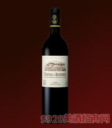 拉菲奥斯叶堡红葡萄酒