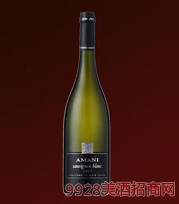 阿曼尼苏维翁白葡萄酒