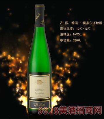 彼得美德・雷司 令甜白葡萄酒9度750ml