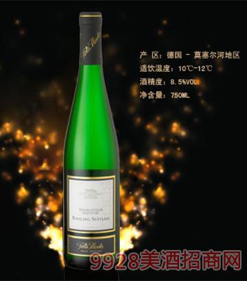 彼得美德·雷司 令精选甜白葡萄酒8.5度750ml