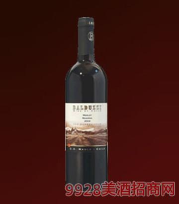豪华碧桃丝特级梅洛红葡萄酒