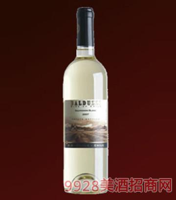 豪华碧桃丝苏维翁白葡萄酒
