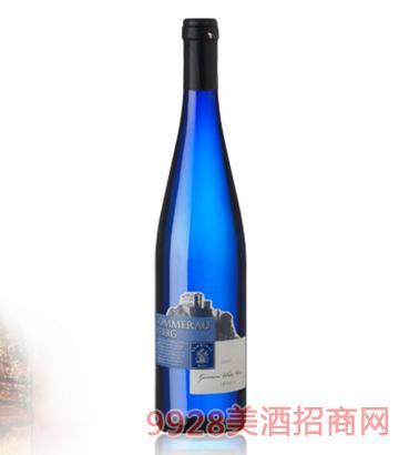 蓝虎城堡・半甜白葡萄酒9.5度750ml