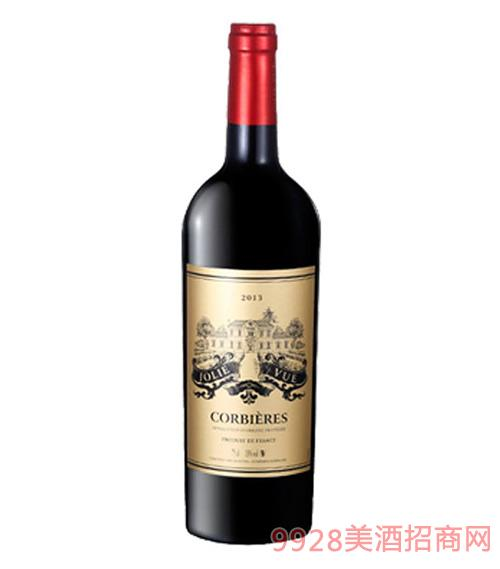 乔利弗科比埃红葡萄酒