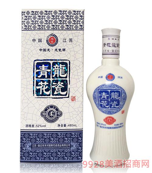 青花龙瓷酒52度480ml