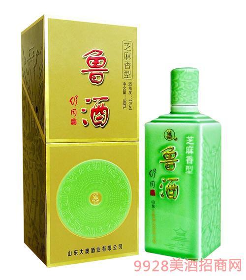 鲁酒41度500ml芝麻香型白酒