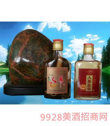 人参虫草酒125mlx24瓶