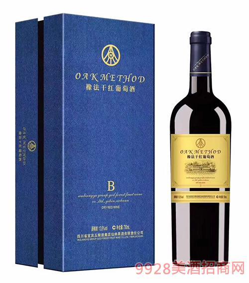 橡法干红葡萄酒B礼盒