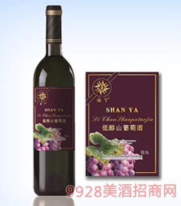 低醇葡萄酒1度750ml