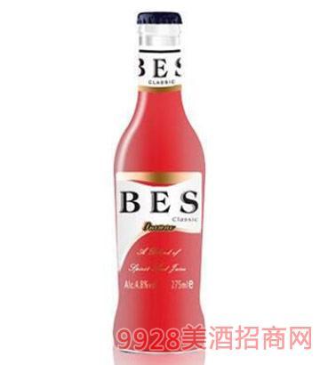 倍爽鸡尾酒樱桃味4.8度275ml
