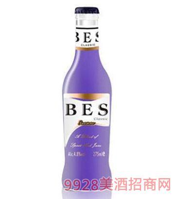 倍爽鸡尾酒蓝莓味4.8度275ml
