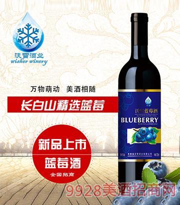 沃雪蓝莓酒5度750ml