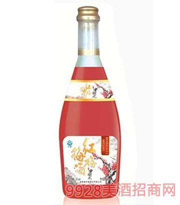 沃雪梅子酒红梅5度750ml