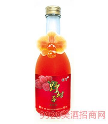 山丫野果酒野树莓4度350ml
