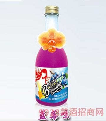 倍爽水果酒蓝莓味4度350ml