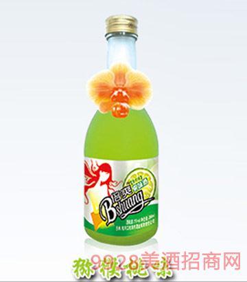倍爽水果酒猕猴桃味4度350ml
