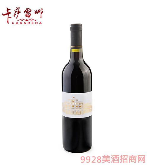 南国风情设拉子干红葡萄酒14.5度750ml